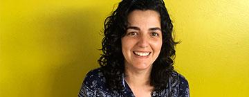 Primer plano de la directora de la escuela infantil Novaschool Arrecife
